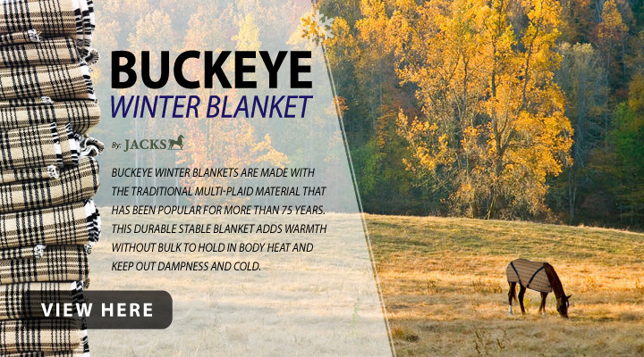 Shop Buckeye Winter Blankets by JACKS