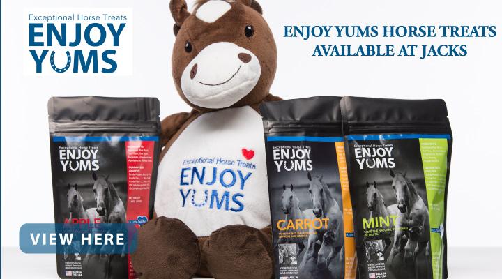 New at JACKS - Enjoy YUMS Horse Treats