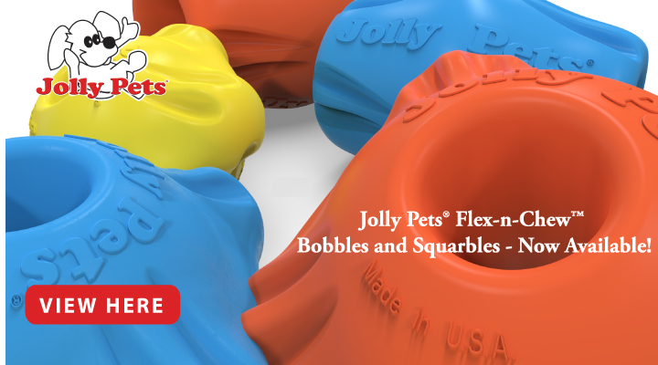 New Jolly Pet toys at JMI Pet Supply
