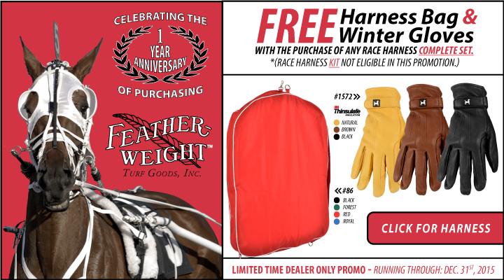 Feather-Weight Turf Goods' 1-Year Anniversary at JACKS, INC. - Dealer ONLY Promotion