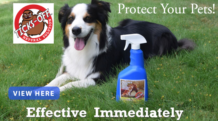 Protect your Pets with Ticks Off
