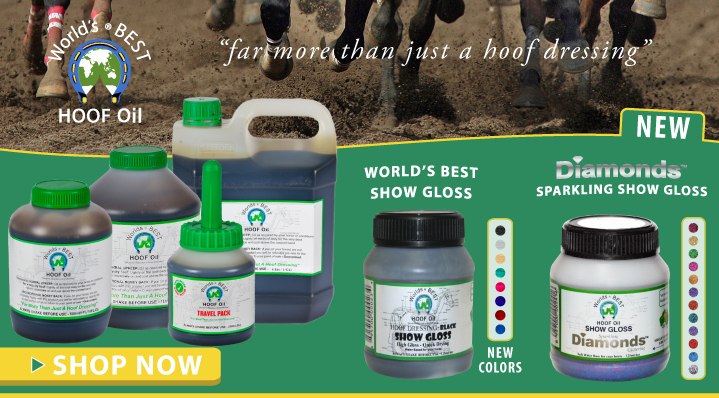 Shop World's Best Hoof Oil