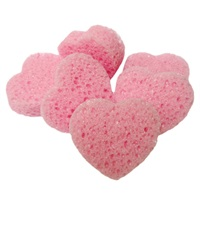 Heart Shaped Sponges