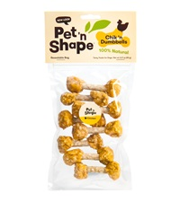 Pet 'n Shape® Chik 'n Dumbbells All-Natural Dog Treats