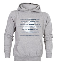 Horse.Codependent Hoodie Heather Gray Unisex