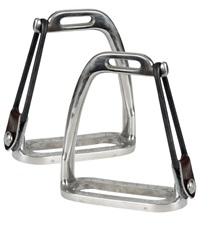 Stainless Steel Peacock Safety Stirrups
