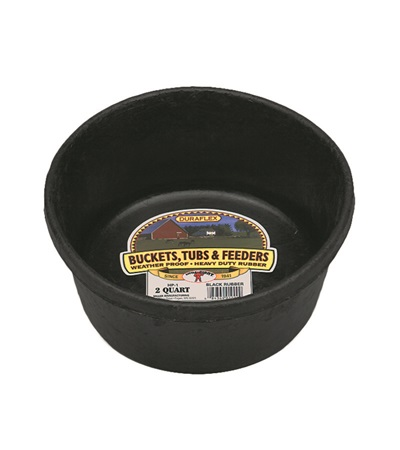 Duraflex Rubber Pan & Tub 2 qt.