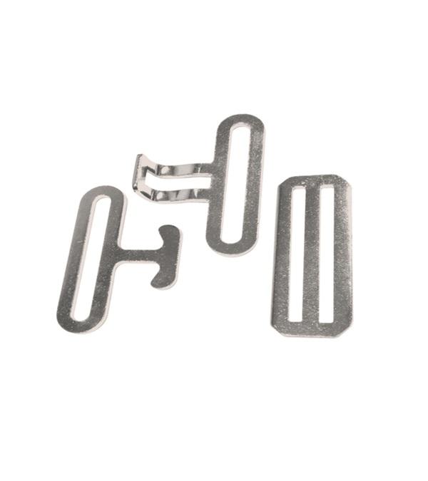 Surcingle Hardware Replacement Set Nickel Plated Steel