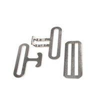 Surcingle Hardware Replacement Set Nickel Plated Steel