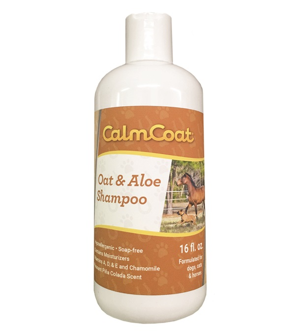 Calm Coat® Oat & Aloe Shampoo 16 oz.