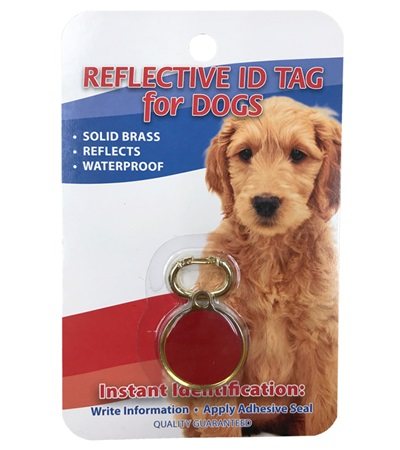 Reflective I.D. Tag for Dogs