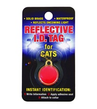 Reflective I.D. Tag for Cats