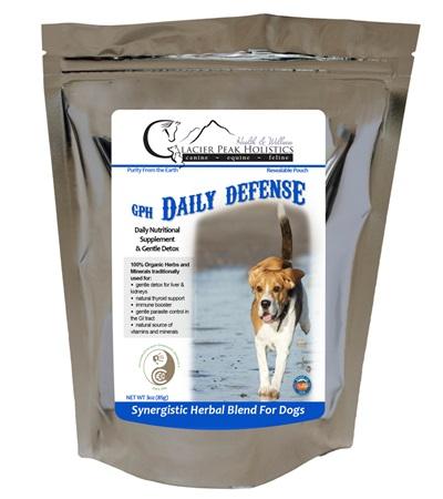 Glacier Peak Holistics Daily Defense Powder for Dogs 3 oz.
