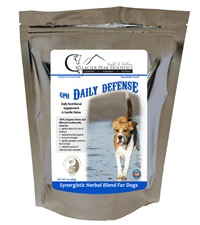 Glacier Peak Holistics Daily Defense Powder for Dogs 3 oz.