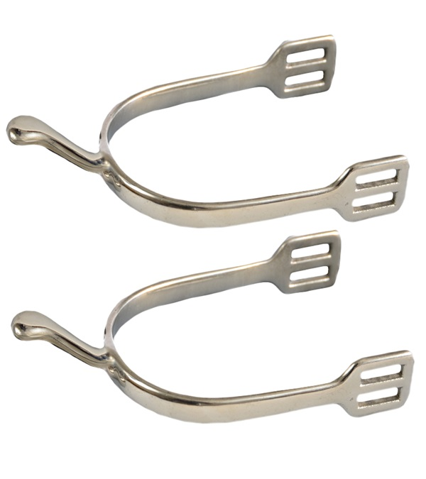 Stainless Steel Swan Neck Spurs
