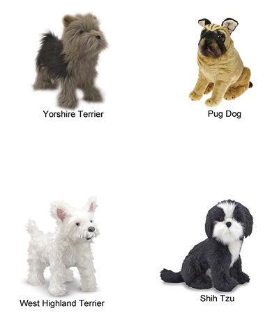 Plush Stuffed Animal Dog Jacks Inc