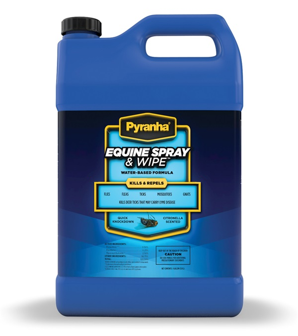 Pyranha® Equine Spray & Wipe™ Gallon