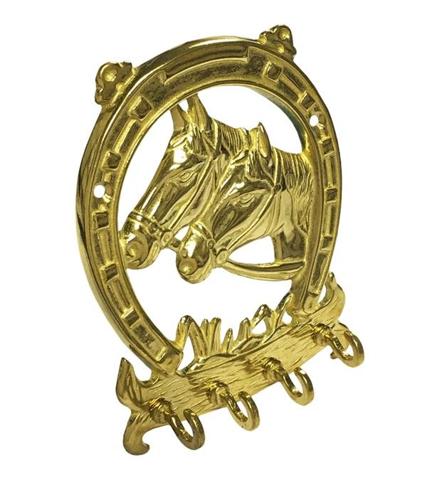 Solid Brass Key Ring Holder