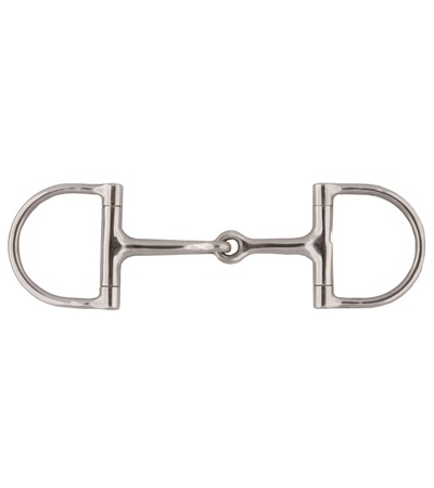 Jointed Mouth Dee Ring Snaffle Bit