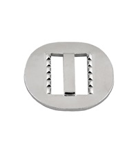 Steel Nickel Slide Buckle 1""