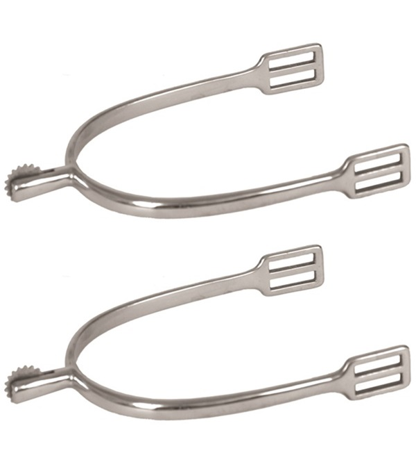 Stainless Steel Ladies Spurs with Rowel