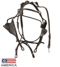 Feather-Weight® Kant See Back Bridle Leather