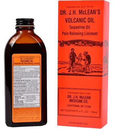 Volcanic Oil Liniment