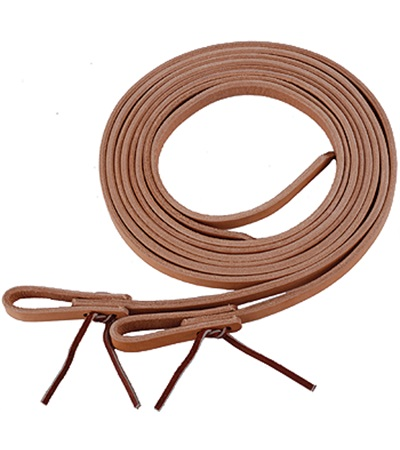 "Water Loop Leather Reins 5/8"" x 8 ft."