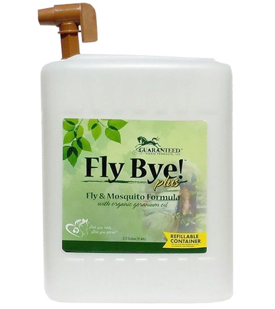 Fly Bye! Plus™ Fly & Mosquito Spray 2-1/2 Gallon with Refill Tap