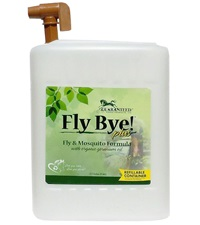 Fly Bye! Plus Fly & Mosquito Spray 2-1/2 Gallon with Refill Tap