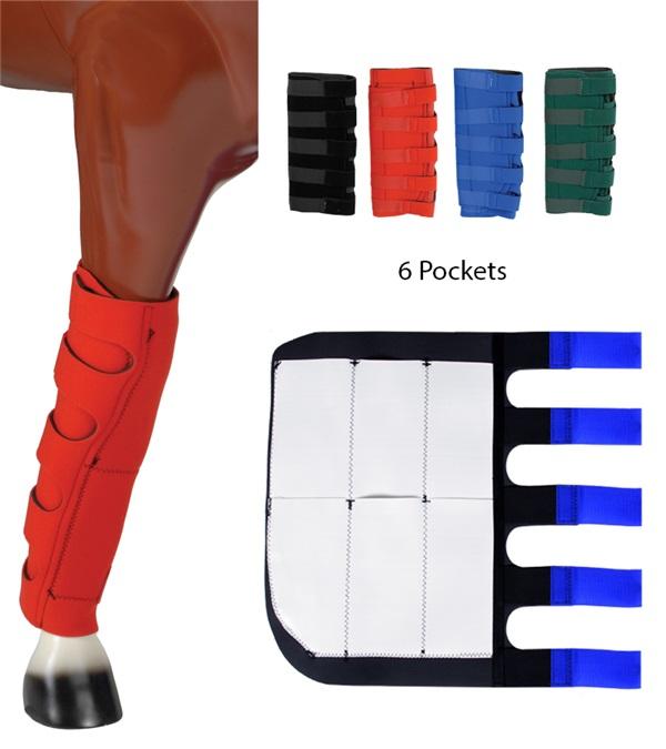 Neoprene Ice Boots 6 Pockets