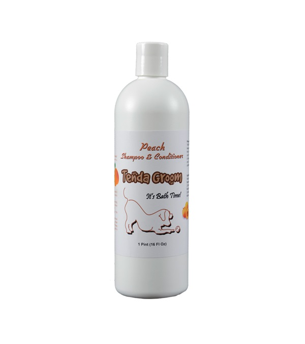 Tenda Groom® Peach 2-in-1 Shampoo & Conditioner 16 oz.