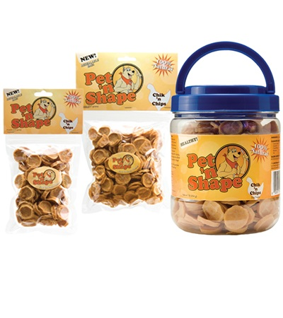 Pet 'n Shape® Chik 'n Chips All-Natural Dog Treats