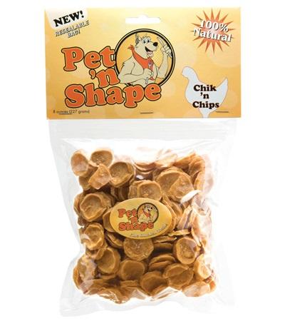 Pet 'n Shape® Chik 'n Chips All-Natural Dog Treats