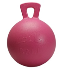 Jolly Ball™ with Handle Bubble Gum Scented 10""