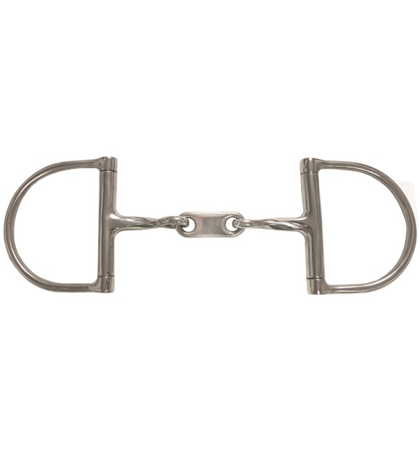 Dr. Bristol Twisted Double Jointed Dee Ring Bit