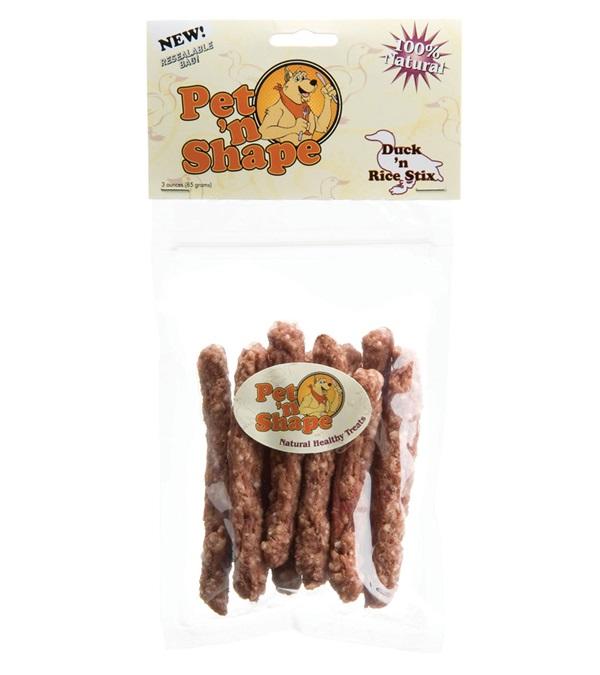 Pet 'n Shape® Duck 'n Rice Stix All-Natural Dog Treats 3 oz.