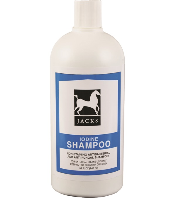 Jacks Iodine Shampoo 32 oz.