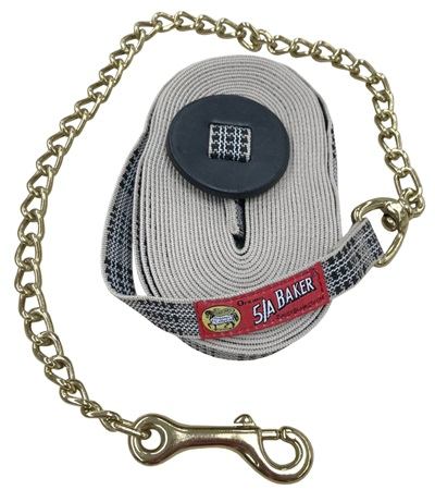 """5/A Baker®  Lunge Line with 30"""" Chain"""