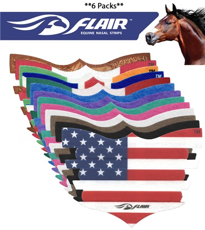 Flair® Equine Nasal Strips (6 pack)