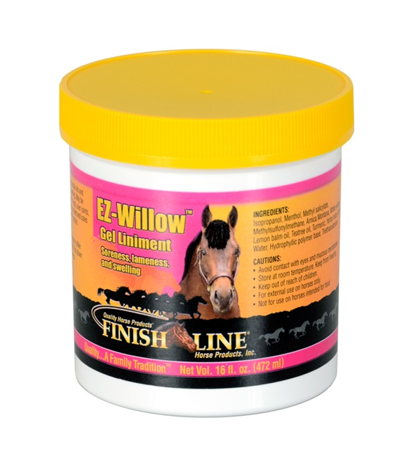 Finish Line® EZ-Willow™ Gel Liniment 16 oz.