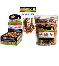 Pet 'n Shape® Duck Feet All-Natural Dog Treats