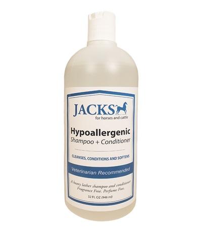 Jacks Hypoallergenic 2-in-1 Shampoo & Conditioner 32 oz.
