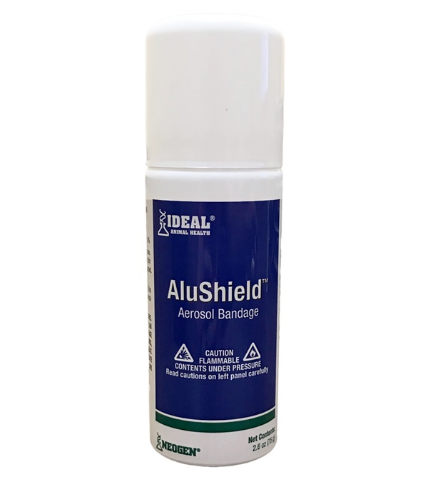 Ideal® Animal Health AluShield™ Aerosol Bandage 2.6 oz.