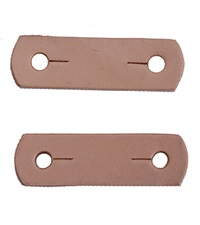 Replacement Leather Tabs for Peacock Safety Stirrups