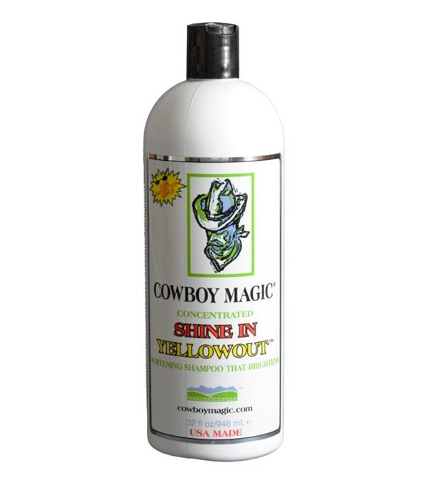 Cowboy Magic® Shine In Yellowout™ Whitening Shampoo 32 oz.