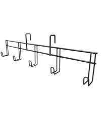 Hook Rack for Tack Caddy or Cart