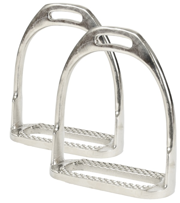 Nickel Plated Hunting Stirrup Irons