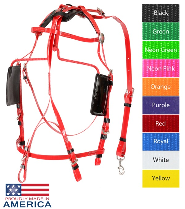 Feather-Weight® Pony Blind Bridle Synthetic