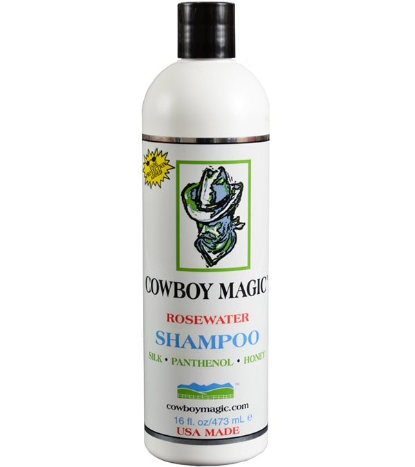 Cowboy Magic® Concentrated Rosewater Shampoo 16 oz.